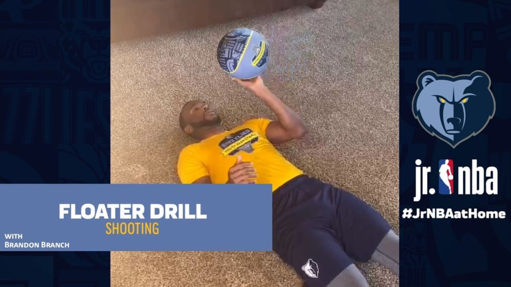 Floater Drill | Basketball Handling Tutorials | Jr. NBA at Home