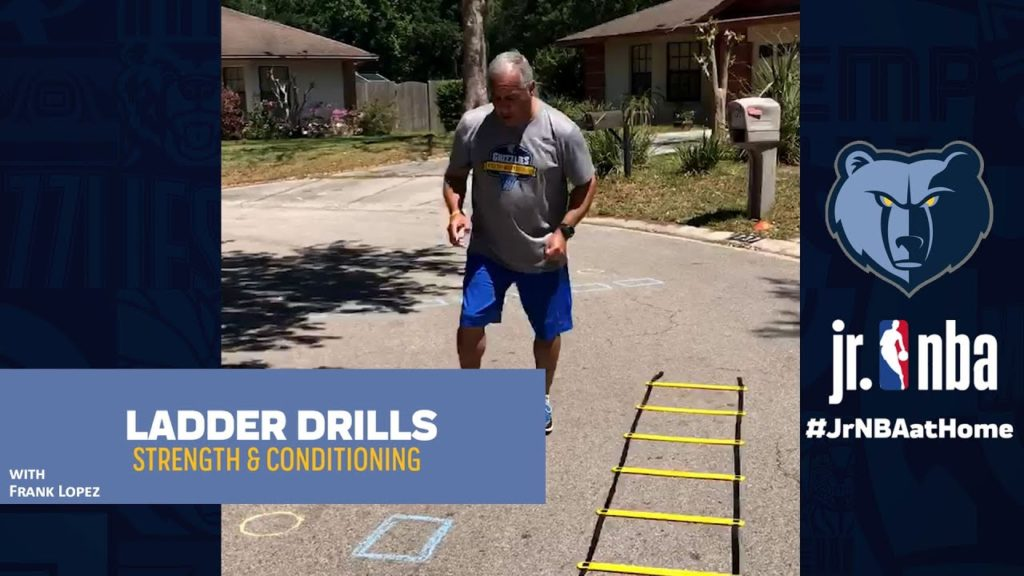 Ladder Drill | Basketball Handling Tutorials | Jr. NBA at Home