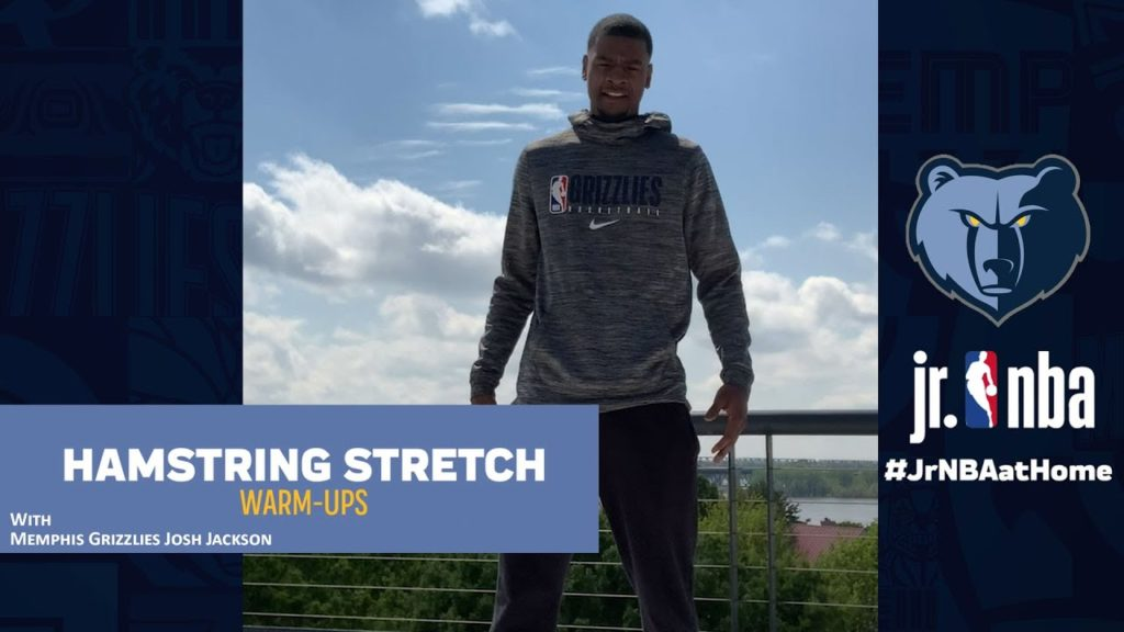 Memphis Grizzlies Josh Jackson's Daily Warm-Up Routine | Jr. NBA at Home