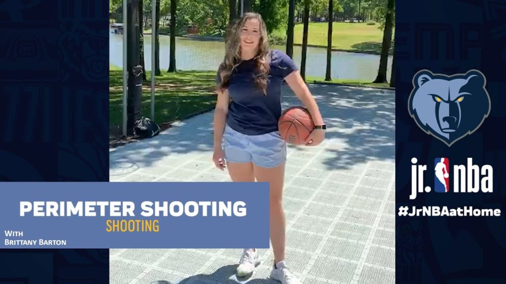 Perimeter Shooting Drill | Basketball Shooting Tutorials | Jr. NBA at Home