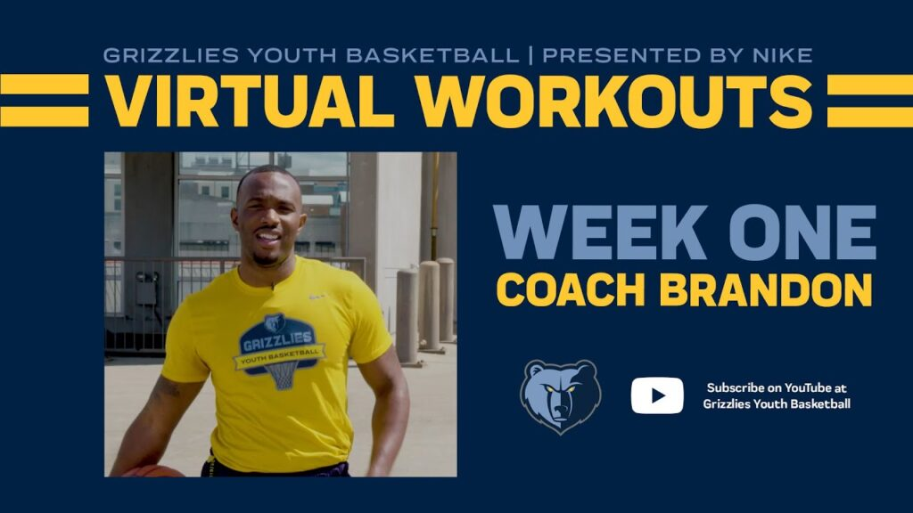 Grizzlies Youth Basketball Virtual Workout #1 - ft. Coach Brandon | presented by Nike