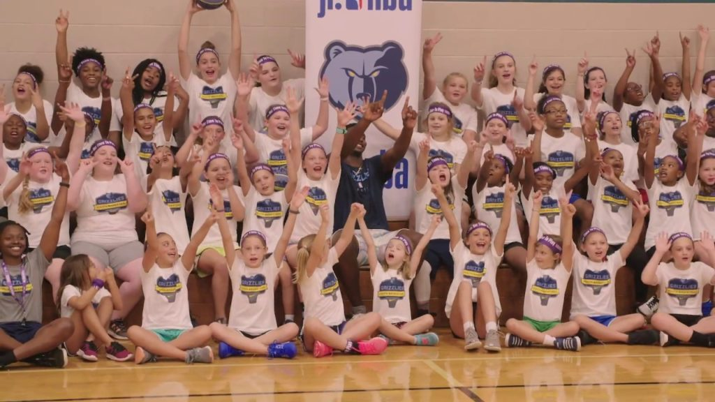 Grizzlies Youth Basketball Promo - Camps and Clinics