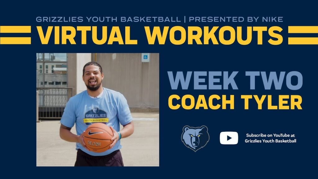 Grizzlies Youth Basketball Virtual Workout #2 - ft. Coach Tyler Hamm | presented by Nike