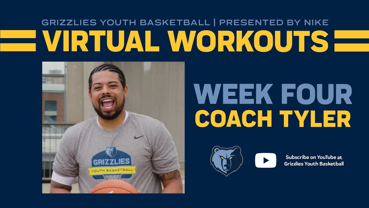 Grizzlies Youth Basketball Virtual Workout #4 - ft. Coach Tyler Hamm | presented by Nike