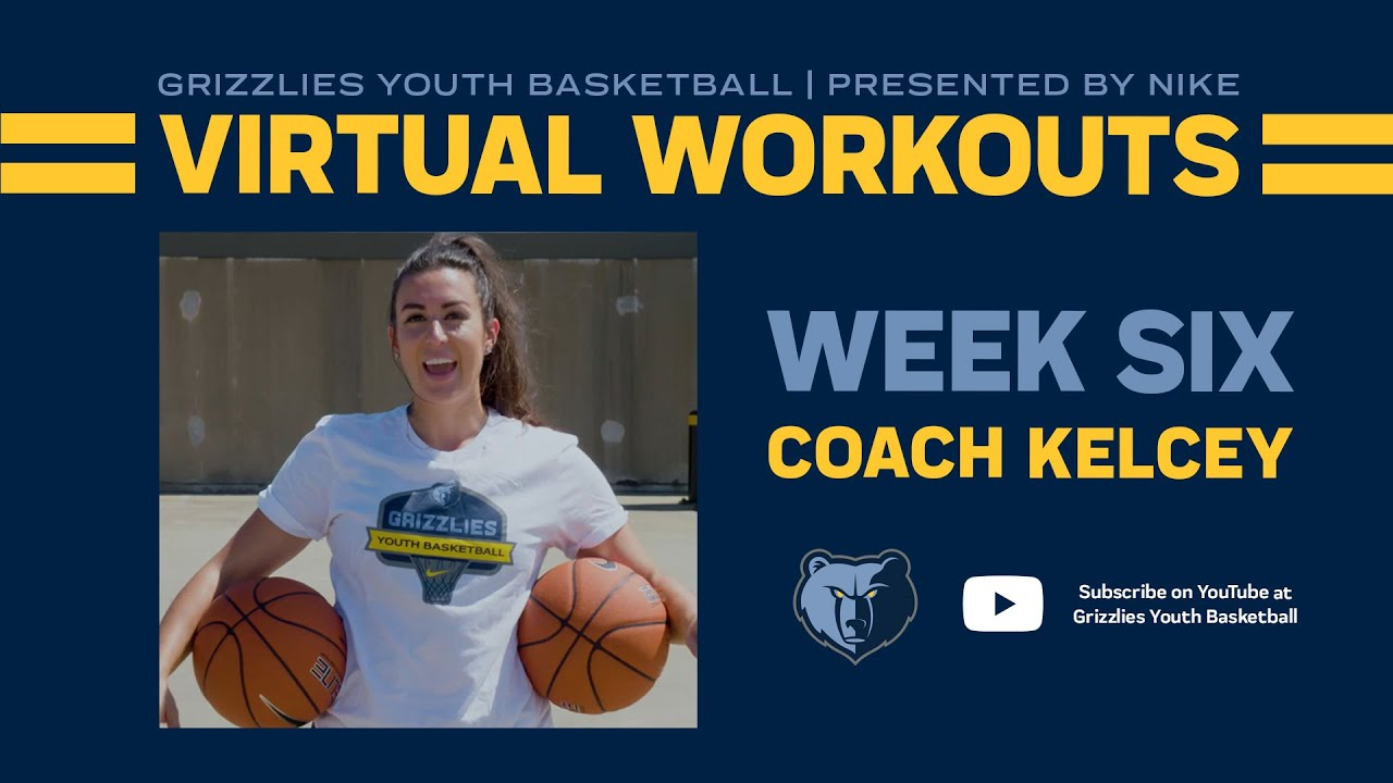 Grizzlies Youth Basketball Virtual Workout #6 - ft. Kelcey Wright Johnson | Presented by Nike