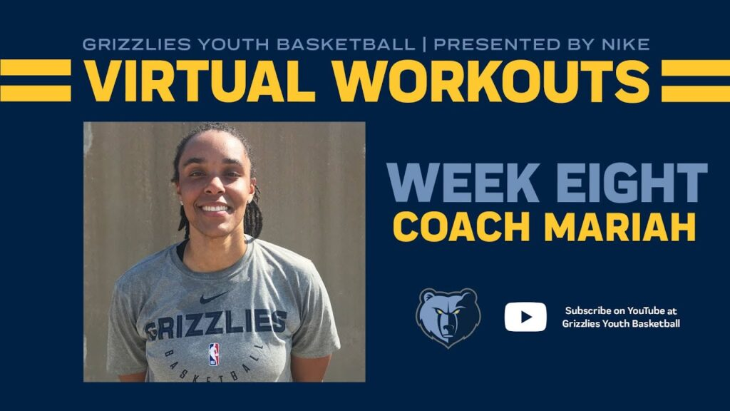 Grizzlies Youth Basketball Virtual Workout #8 - ft. Coach Mariah Chandler | Presented by Nike