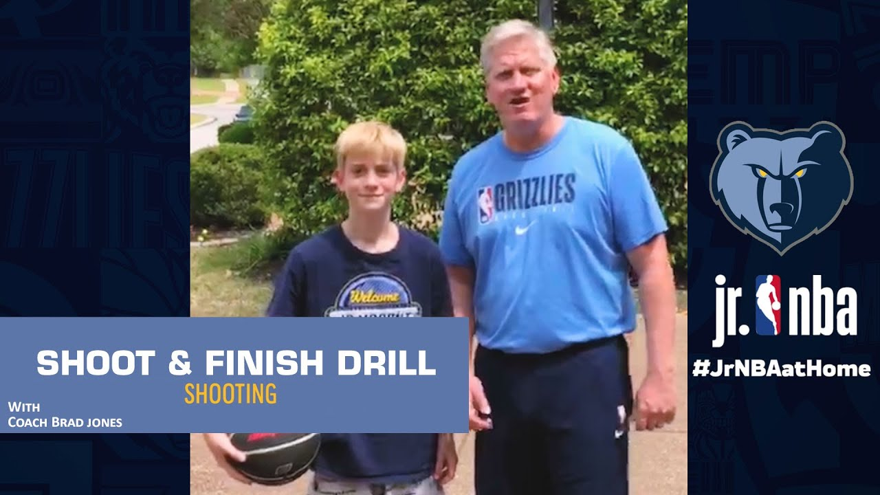 Offhand Perimeter Shooting Drill | Basketball Shooting Tutorials | Jr. NBA at Home