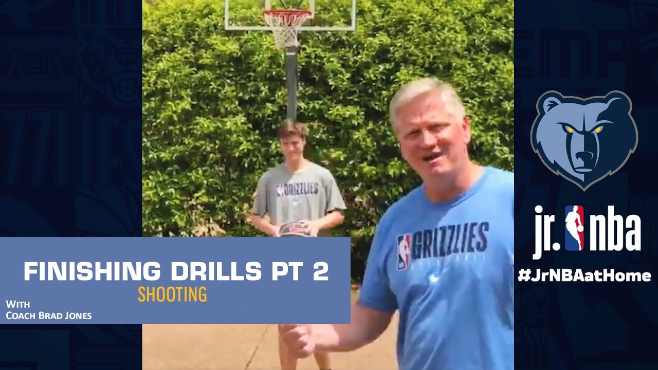 Finishing Drills Medley | Basketball Shooting Tutorials | Jr. NBA at Home