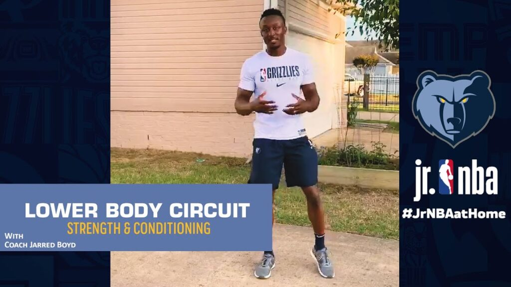 How to Jump Higher: Lower Tendon Exercises | Strength & Conditioning Drills | Jr. NBA at Home