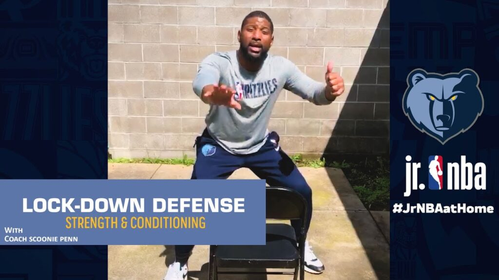 How To Defend The Screen | Basketball Defense Drills | Jr. NBA at Home