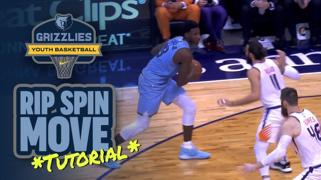 Rip Spin Move Tutorial (Mid-Post Pivot) - Basketball Skills and Drills
