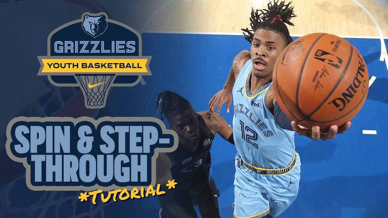 HOW TO: Spin & Step-Through like Ja Morant - Basketball Skills & Drills w/ Brandon Branch